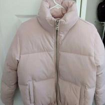 New Express Vintage Pink Short Down Puffer Coat Jacket Sz M Medium Photo