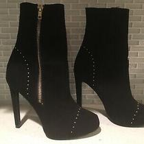 New Express Womens Booties Size 6.5 Black Photo