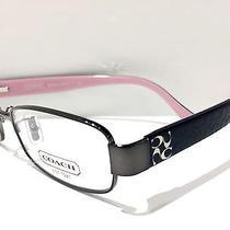 New Eyeglasses Coach Hc 5001 (Taryn) 9021 (Dark Silver) 50-16 135 Photo