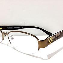 New Eyeglasses Coach Hc 5030(betsy) 9002 (Sand) 52-17 135 Photo
