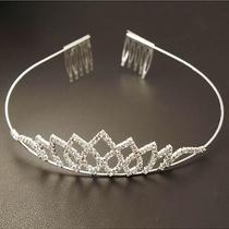 New Fashion Shining Bride Wedding Bridal Crown Headband Jewelry Photo