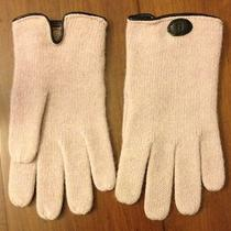 New Fendi Knitted Gloves 60% Lambs Wool 20% Angora 20% Nylon 8