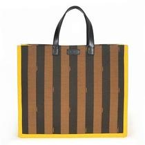 New Fendi Pequin Shopping Tote - Large Photo