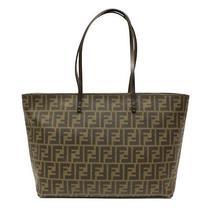 New Fendi Zip Top Tote Bag Photo