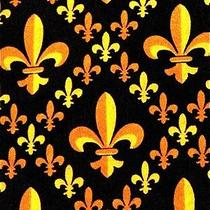 New Fleur De Lis New Orleans Saints Men's Necktie Neck Tie Steven Harris Sleeved Photo