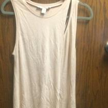 New Forever 21 Small Asymmetrical Muscle Tank Color Blush Photo