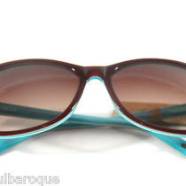 New Fossil Audrey 3 Burgundy and Teal Sunglasses Ps4108606 Nwt Photo
