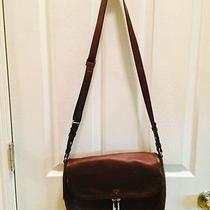 New Fossil Brown Leather Crossbody Photo