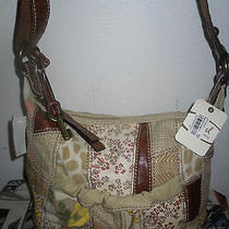 New Fossil Canvas Bag Shoulder Bag Purse  Photo