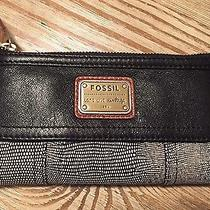 New Fossil Emory Clutch Neutral Multi Photo