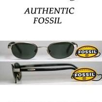 New Fossil Flex-Hinged Catalina Gunmetal Sunglasses W/ Gray Lenses  Under 30 Photo