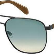 New Fossil Fo Fos2081 Sunglasses 0003 Matte Black 100% Authentic Photo