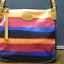 New Fossil Keeper Crossbody Stripe Fun Bag Photo