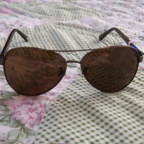 New Fossil Mens Aviator Sunglasses  Photo