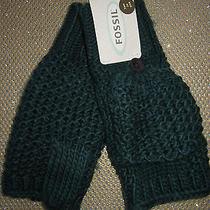 New Fossil Mittens Texting Gloves Ladies Osfa S M L Green Photo