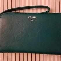 New Fossil Tech Wallet in Teal Photo