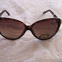 New Fossil Womens Sunglasses  61 14 130 Photo