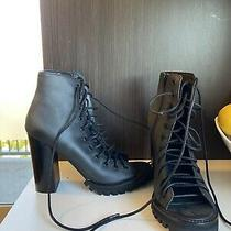 New Free People Jeffrey Campbell Palermo Heel Size 8 Black Photo