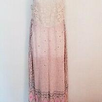 New Free People Jumpsuit  Blush With Beaded design.women's Size Smallmsrp 298 Photo