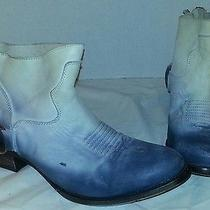 New Freebird by Steven Cali  Distressed Leather Ankle Boots Women's Size 9 Photo