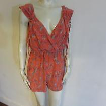 New French Connection Romper Size S Multicolor Not Lined 100% Silk Photo