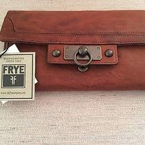 New Frye Cameron Wallet Large Cognac Photo