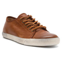 New Frye Chambers Low Cognac Mens 8.5 Photo