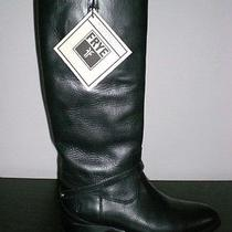 New Frye Melissa Lindsay Plate Boots in Black - Size 7.5 B  Photo