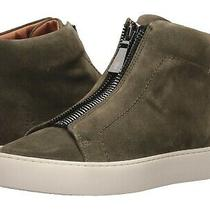 New Frye Women's Lena Zip High Ankle-High Suede Sneaker Forest Green Sz 9 258 Photo
