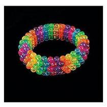 New Fun Express - Beaded Rainbow Bracelets 1 Dozen - Bulk Photo