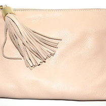 New g.i.l.i.  Leather Pouch Petal - Light Blush Photo