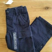 New Gap Baby / Toddler Boy 4 Years  Carpenter / Cargo Navy Blue  Pants Photo