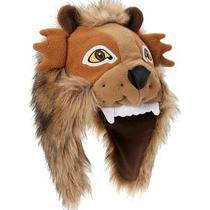 New Gap Fleece Winter Fur Trapper Bomber Lion Animal Hat Costume Boy S/m 2-3 Photo