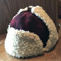New Gap Kids Buffalo Plaid Wool Trapper Hat Sz M/l 30 Value Faux Fur Bomber Nwt Photo