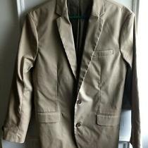 New Gap Men Tan Two Button Casual Blazer Sport Jacket Coat Cotton Size Medium Photo
