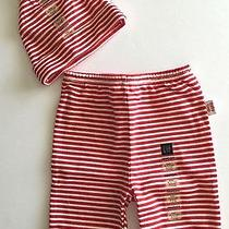New Gap Newborn Unisex Pants/hat Set Perf for Holiday Card Photos & Announcement Photo