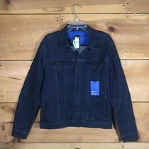 New Gap Performance Collection Jean Denim Jacket Coat Mens Size Medium Teflon Photo