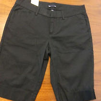 New Gap Size 1 Black Bermuda Shorts Photo