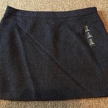 New Gap Women's Mini Skirt Tapestry Navy Size 10 44.99 Photo