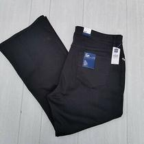 New Gap Womens Size 20 a Black Flare Stretch Jeans Waist 38