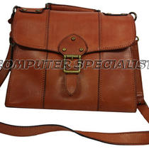New Genuine Fossil Leather Vintage Re-Vival Flap Rust Purse Zb5409220 Photo