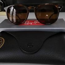 New Genuine Ray Ban Rb 4259 F Sunglasses Shiny Havana Frame Brown Lens Photo