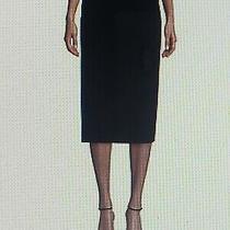 New Giorgio Armani Women's Knee Length Straight Pencil Skirt Size 44/8 Photo