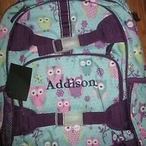 New Girl Pottery Barn Kids Owl Backpack Large Addison Photo