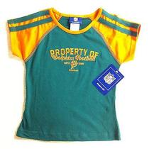 New Girls Official Nfl Miami Dolphins Football T-Shirt Size 7/8 Free Us Shipping Photo