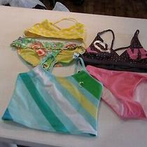 New Girls Size Xl (12-14) Old Navy & Gap Misc Swimsuit Pieces (Qty 5) X-Large Photo