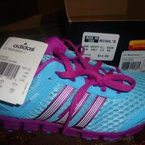 New Girls/youth Adidas Climacool Cc Modulation Aqua/purple Running Shoes 5 Photo