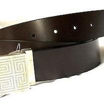 New Givenchy  Ebony (Dark Brown) Genuine Leather Belt - Adjustable Cut-to-Size  Photo