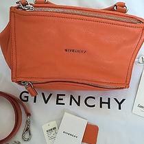 New Givenchy Pandora Small Orange Messenger/cross Body Bag  Nwt List 1790 Photo