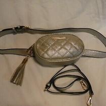 New Gold Aldo Pounce Waist Belt Bag Fanny Pack / Crossbody/ 2 in 1 Photo